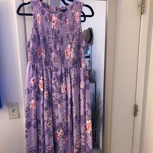 Torrid challis dress